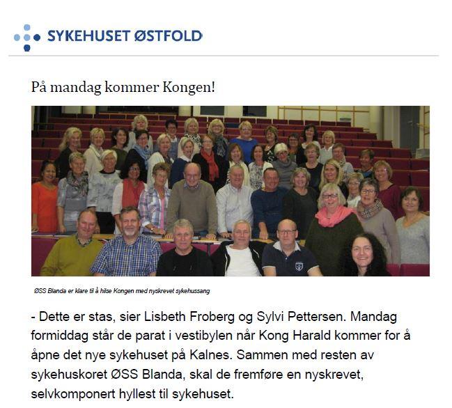 Nyhetssak Sykehuset Østfold Kalnes